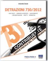 tasse,detrazioni 730 2012